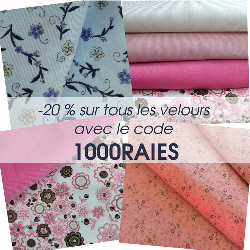 promo velours pikebou