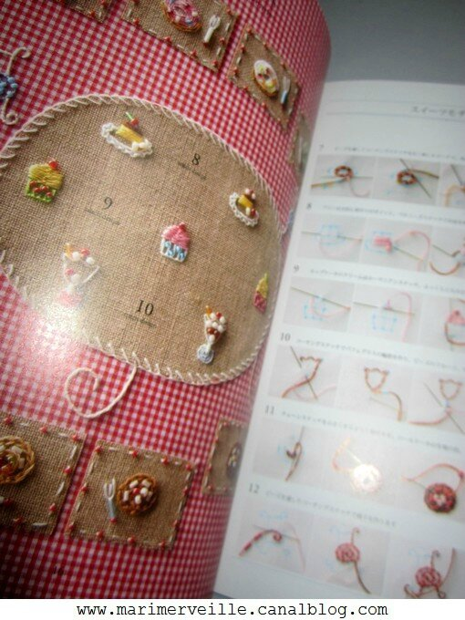 mini motif sweets with beads - marimerveille