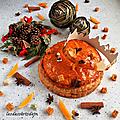 Galette des rois orange/pain d'épices