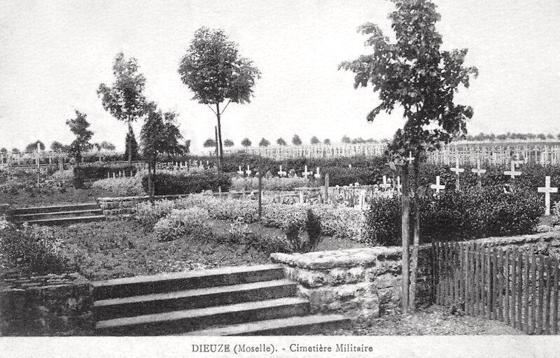 Dieuze, cimetière militaire