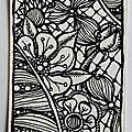 Doodling floral