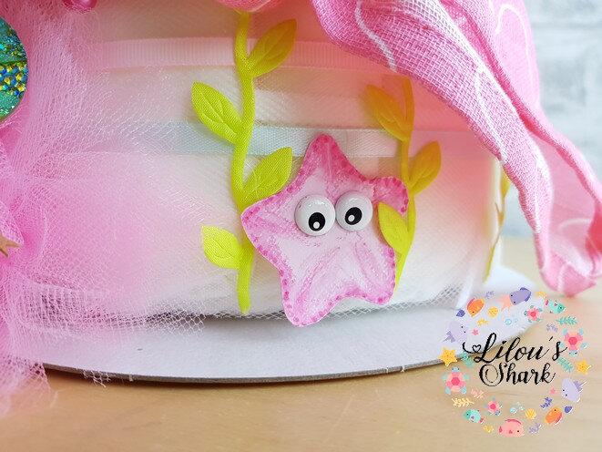 diaper cake mermaid francoise vermorel 9