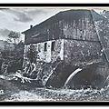 Laga - vieux moulin à papier datée 1964