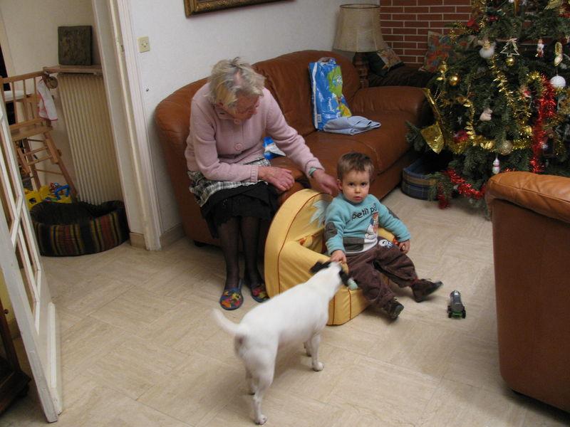 Valentin et son arriière-grand-mère