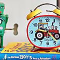 Réveil pour enfant tracteur tyrrell katz