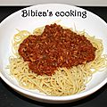 Sauce bolognaise express au cook'in