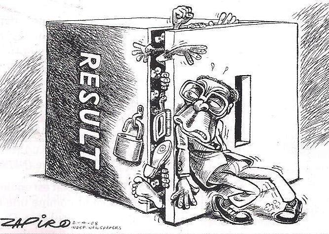 caricature Afrique défis à relever mondialisation - démocratisation
