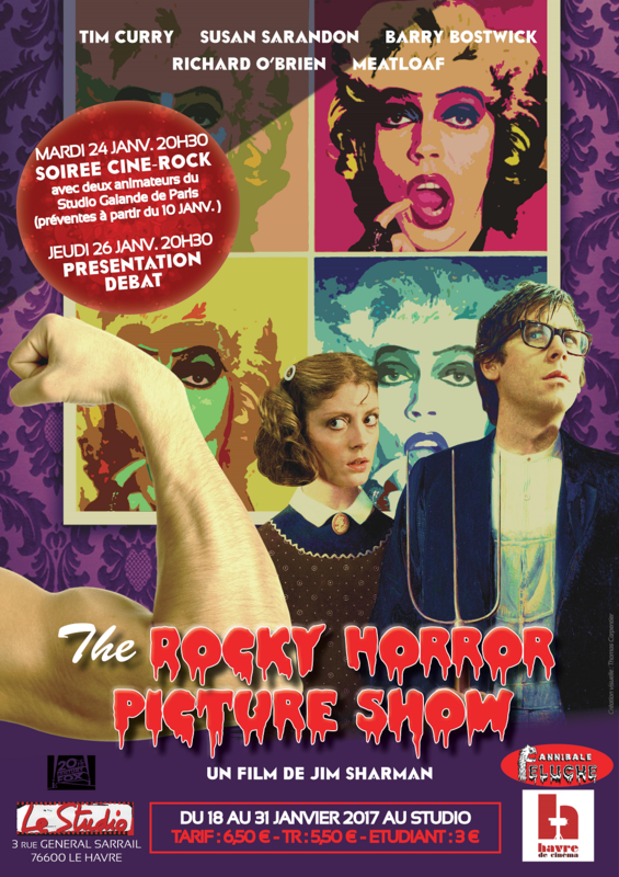 Affiche The Rocky Horror Picture Show mail