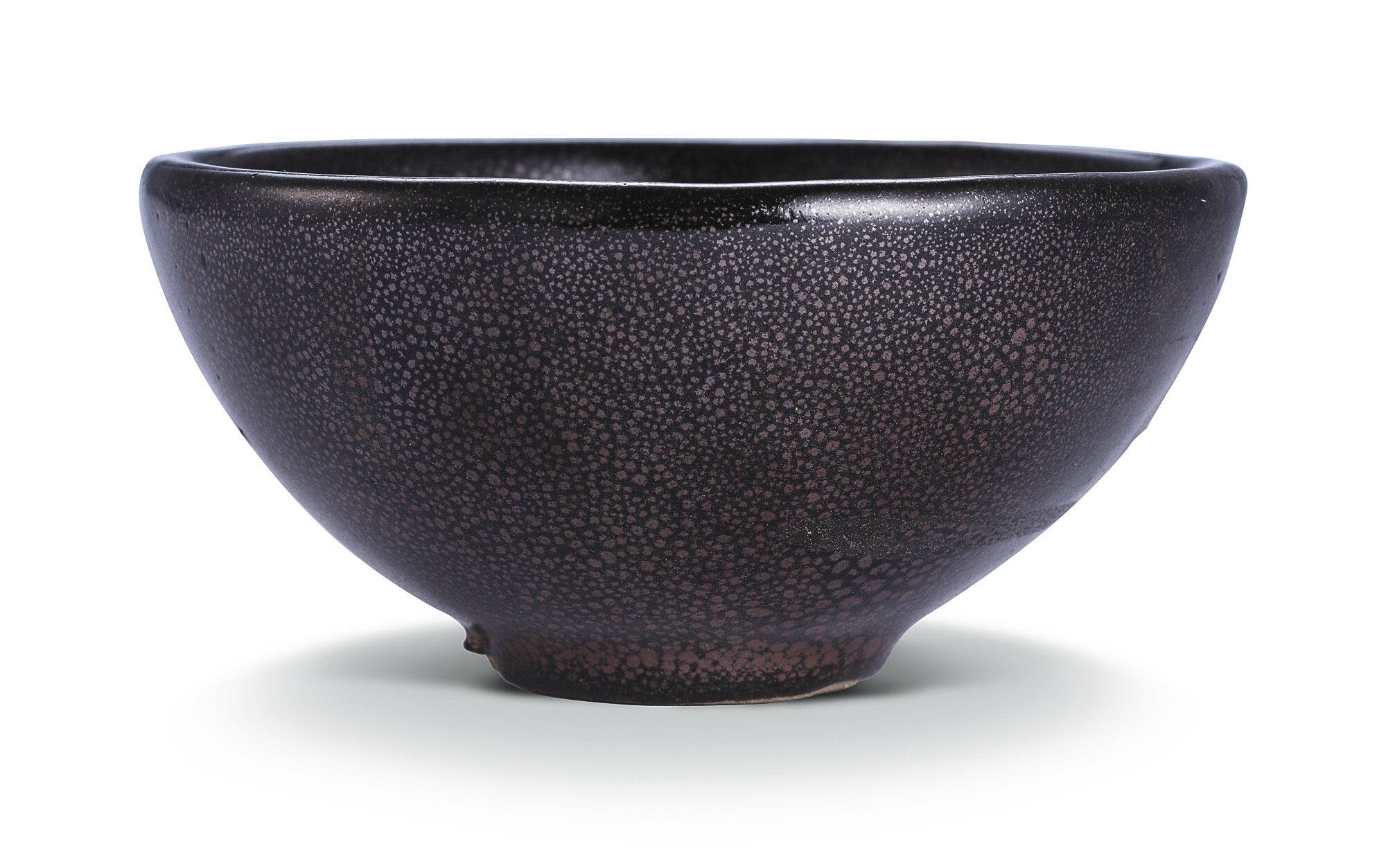 A small 'oil spot', teabowl, Song dynasty (960–1279)