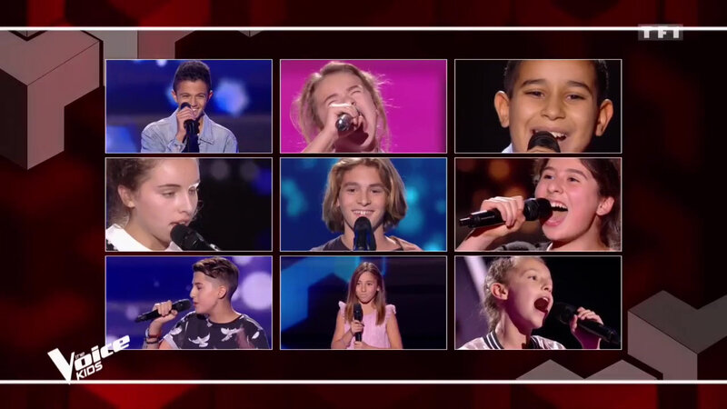 Les 9 Talents de LA TEAM AMEL - SAISON 5 THE VOICE KIDS