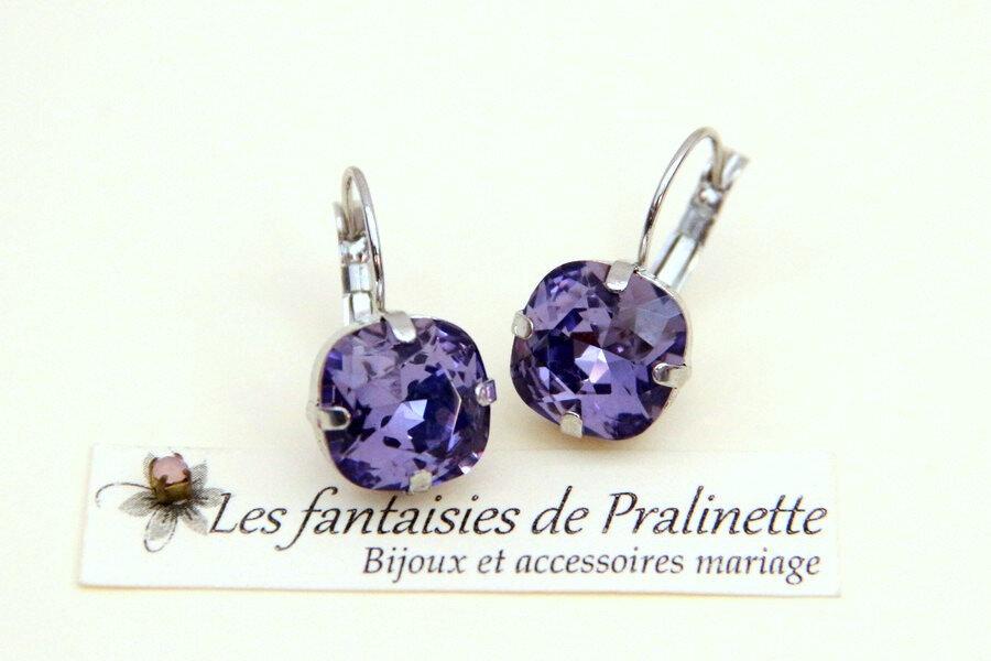 bijoux-mariage-soiree-temoin-cortege-boucles-d-oreilles-Soline-cristal-violet-lavande-rhodié