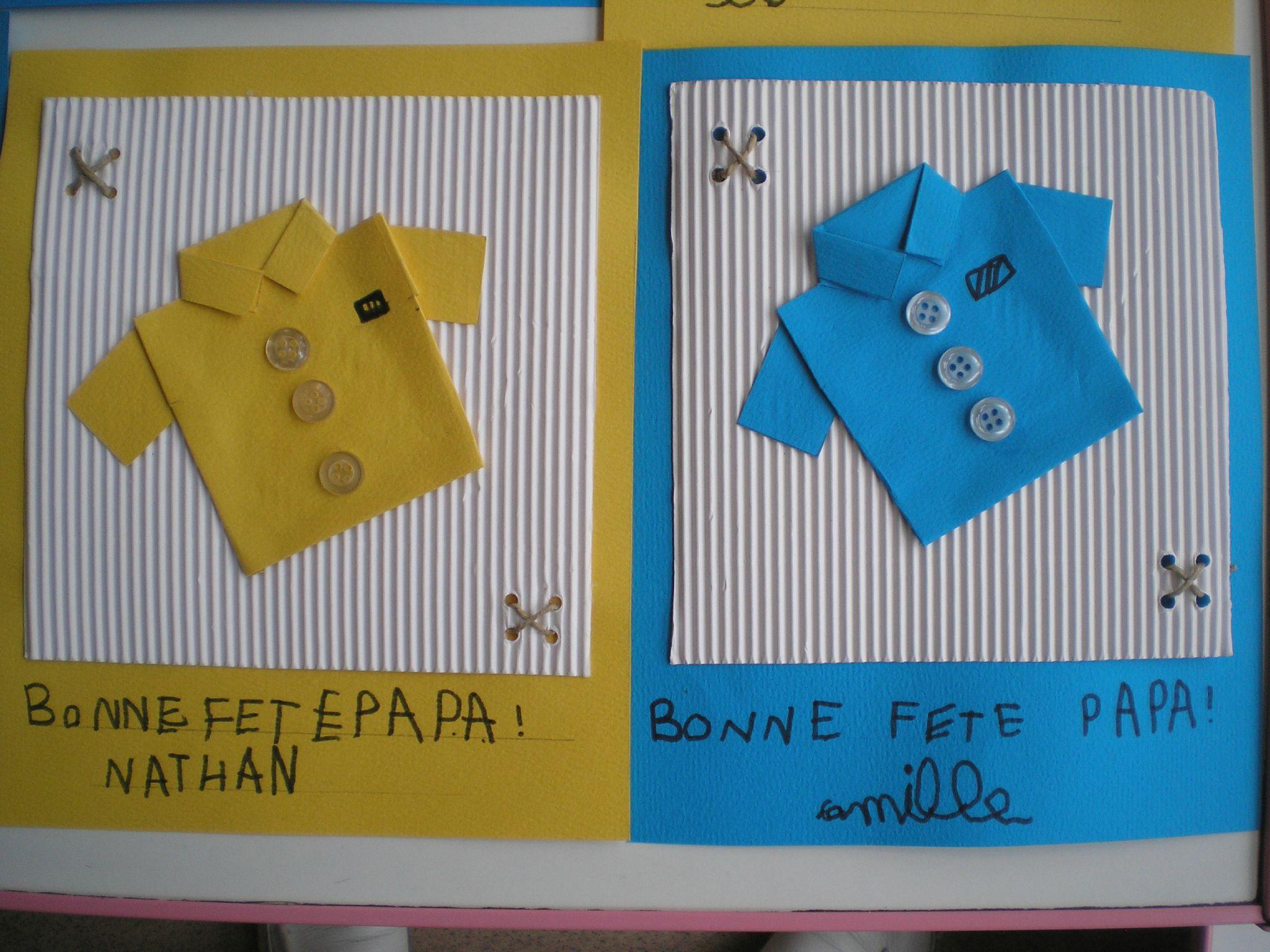 chemises fête des pères 2012