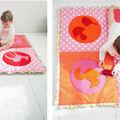 Les courtepointes pour bébé ou matelas de sol, tapis d'éveil