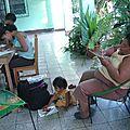 Ateliers de dessins sur les chants et danses populaires à rabinal-guatemala