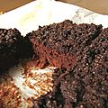 Brownie crumb cake au chocolat