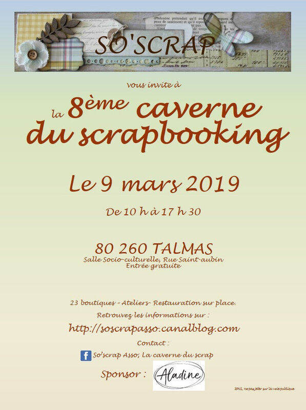salon Talmas 9 mars 2019