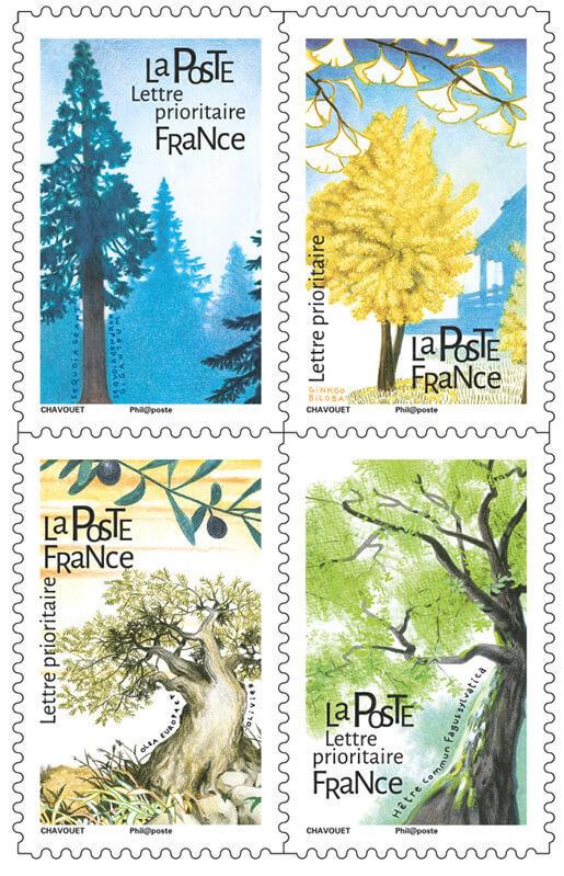 2018-01 timbres Arbres