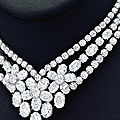 An elegant diamond 'boreal' necklace, van cleef & arpels