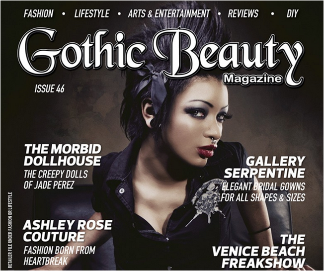 Issue 45 now available | Gothic Beauty Magazine