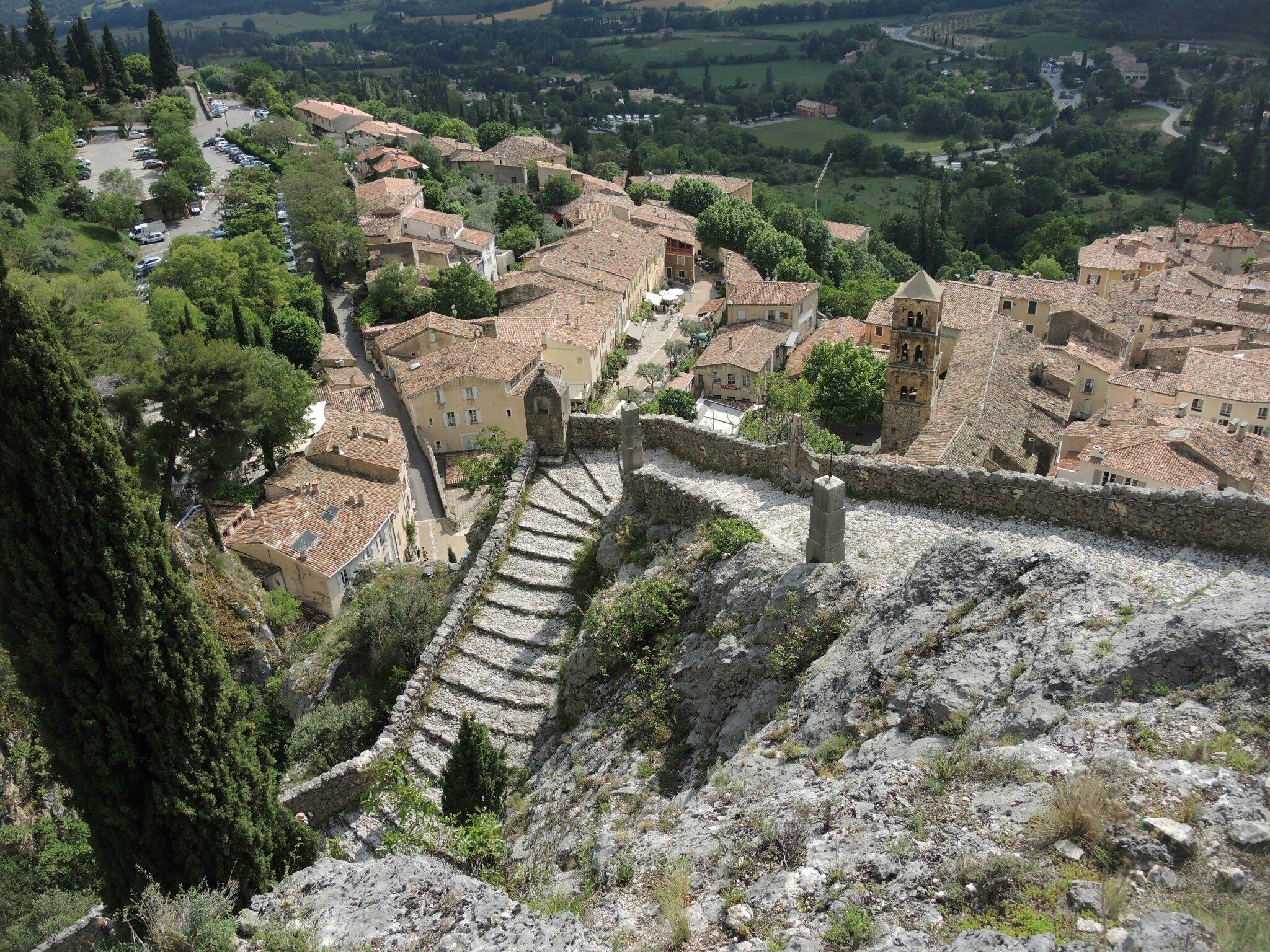 Moustiers-Sainte-Marie, chemin de croix