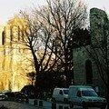 Notre-Dame depuis la rue Galande