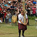 Scott rider , the best ihgf caber-tosser in the world