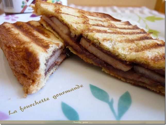 Croque nutella