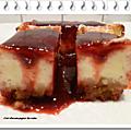 Cheesecake citron et framboises