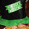 Crackers sales de la st-patrick a la biere
