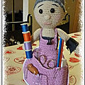 Assistante couture mamie crochet ou crafter-granny