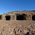 Solstice d'été dans la grotte des 4 portes (las 4 puertas) île de gran canaria