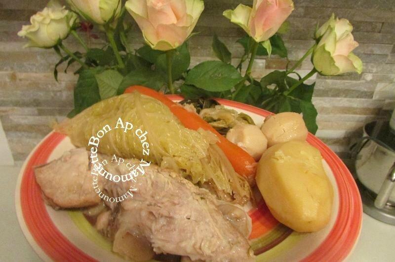 Jarret de porc en potée aux légumes fermiers bretons 013