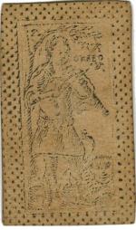 Tarot Orfeo di Lucca - Orphée jouant de la vielle