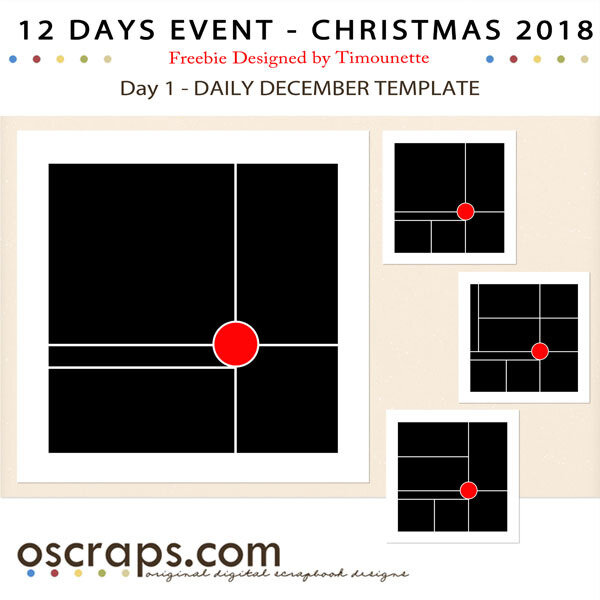Oscraps advent event 2018 F