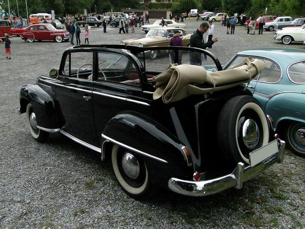 opel olympia decouvrable 1950 1953 b