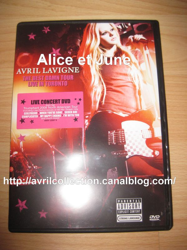 DVD The Best Damn Tour-Live in Toronto (2008)