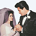 Elvis et Priscilla Beaulieu (Wedding)