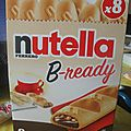 Test b-ready nutella