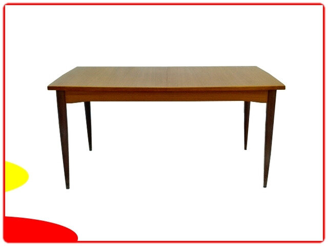 Table scandinave teck 1960