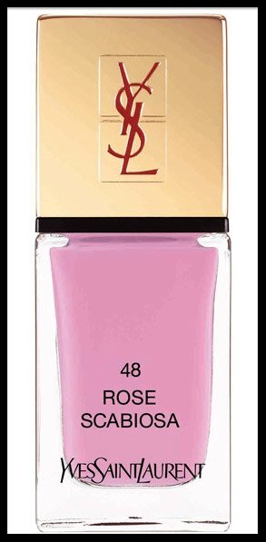 yves saint laurent vernis rose scabiosa