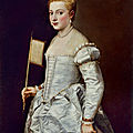 Titian's lady in white loaned to the norton simon museum
