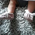 Petits chaussons fifiiilles