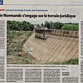 Ecologie normande: la bataille juridique pour sauver le barrage de vézins va commencer...