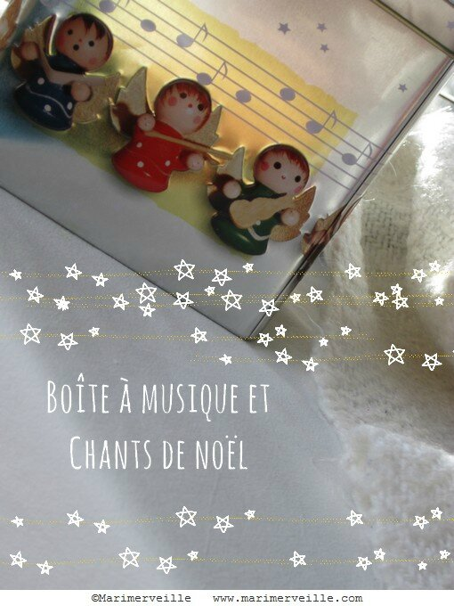 chants de Noël marimerveille
