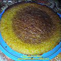 Gâteau humide orange ou citron