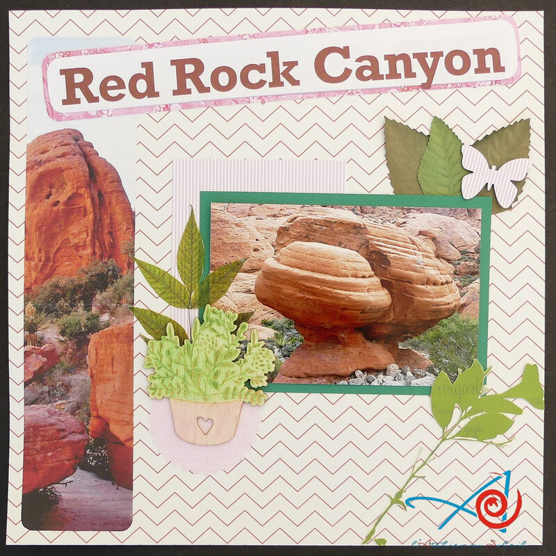 Page Red Rock Canyon #1 - Red Rock Canyon Page #1