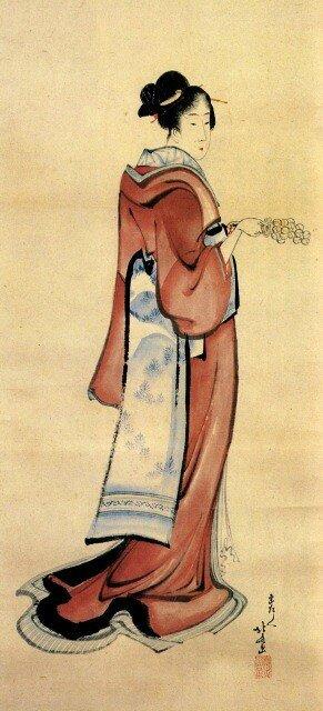Hokusai Femme 03