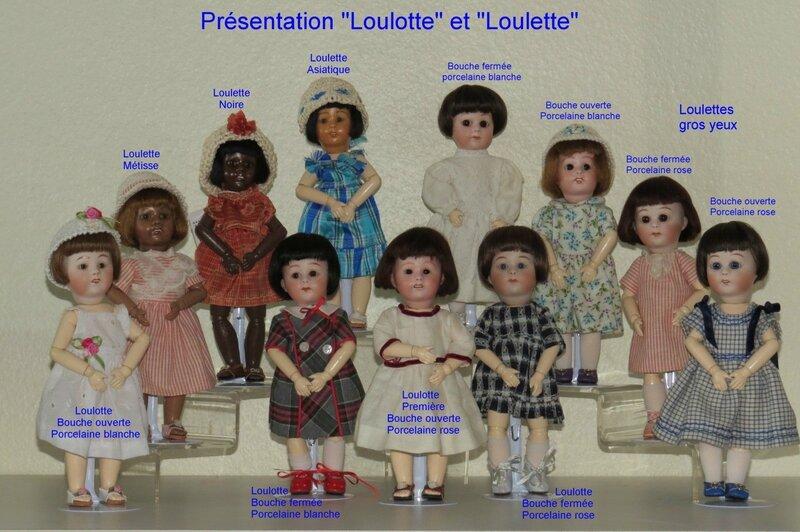 Présentation Loulotte et Loulette