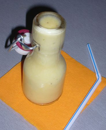 smoothie ananas agave