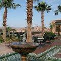 jardin de l'hôtel Ouarzazate